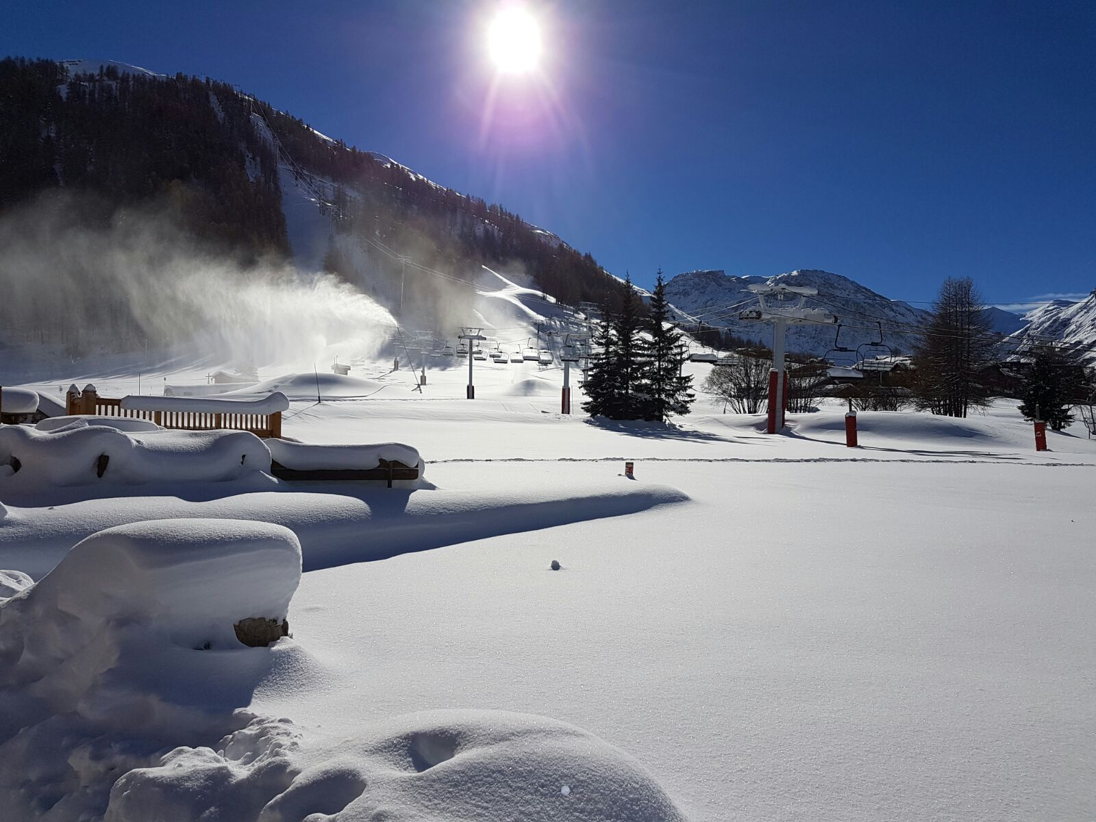 Winter in Val d'Isere
