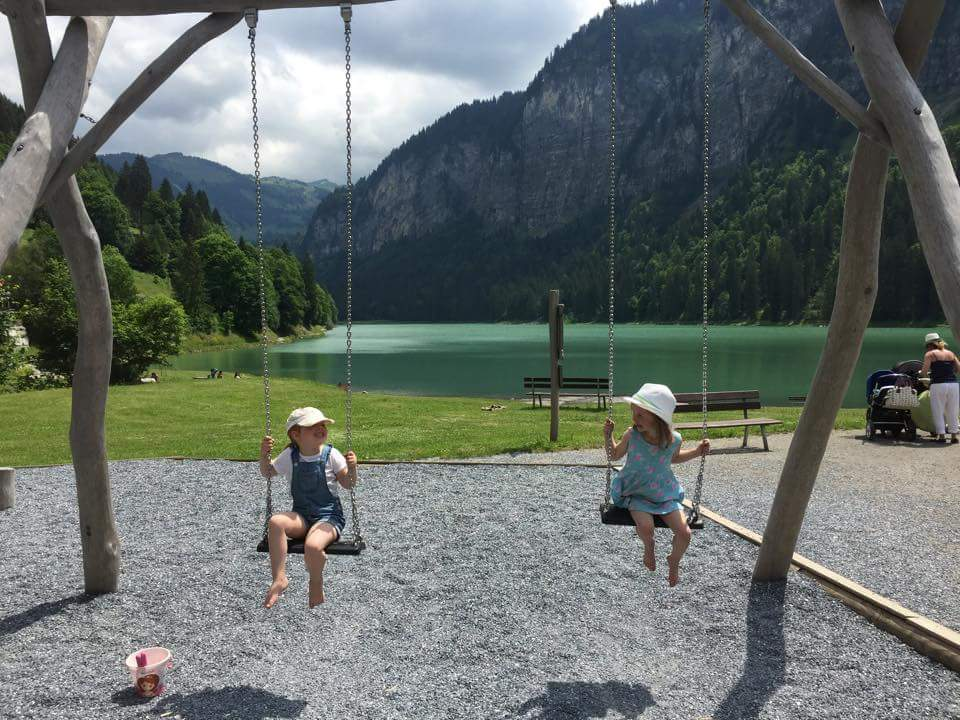 Summer activities in and around Morzine. Lake Montriond. Lac de Montriond.