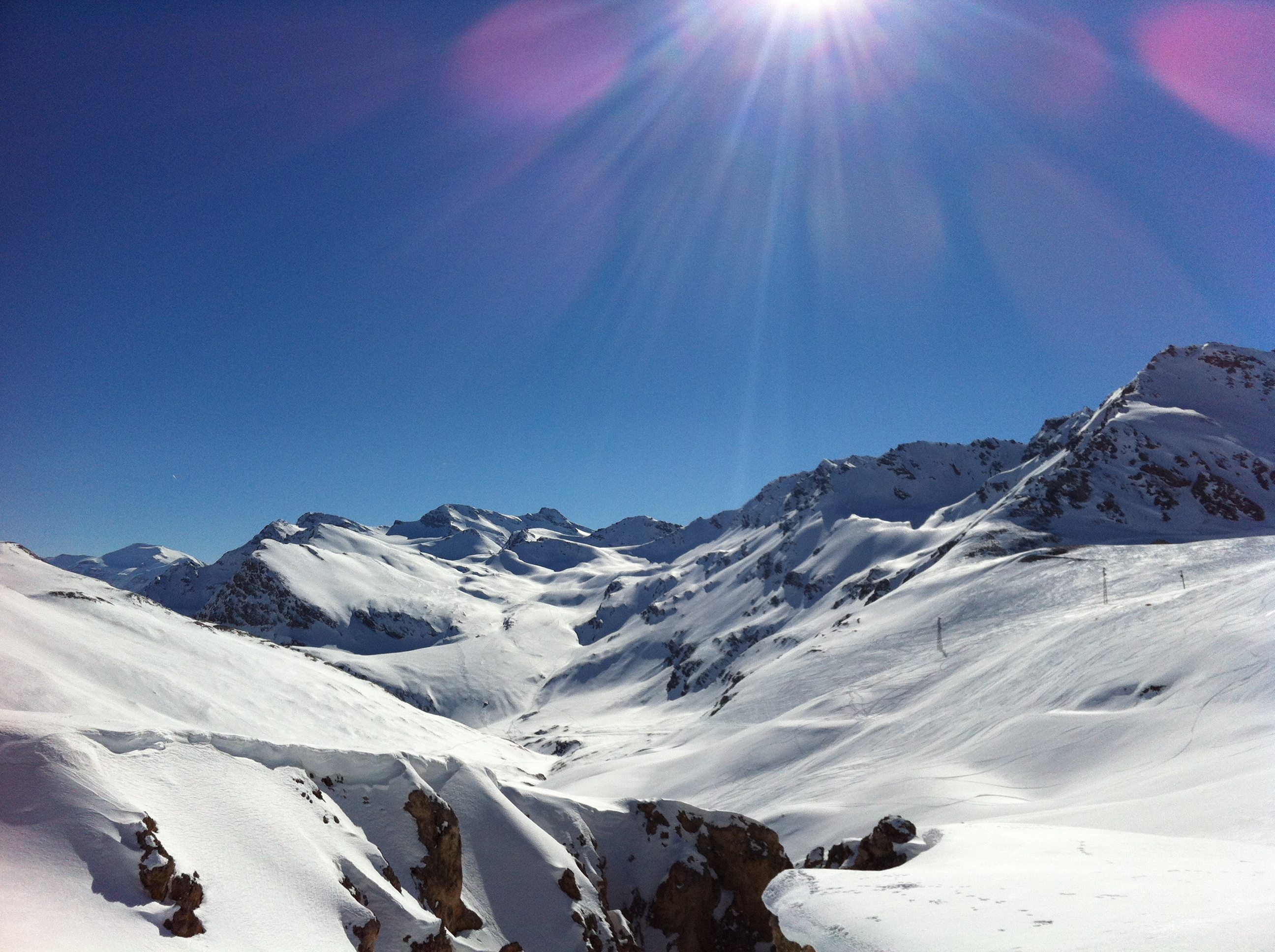 Skiing at half term. Tips to avoid the crowds.