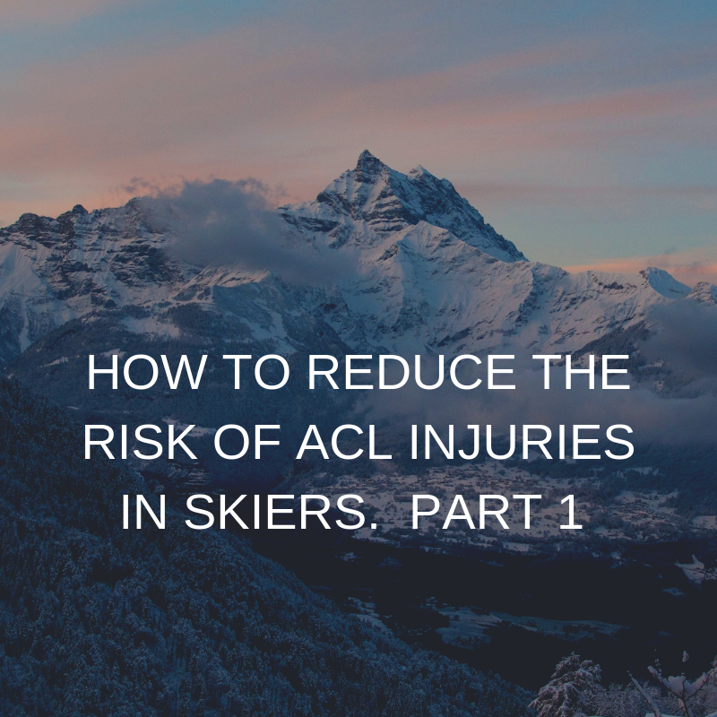 Reduce the risk of ACL injuries in skiers