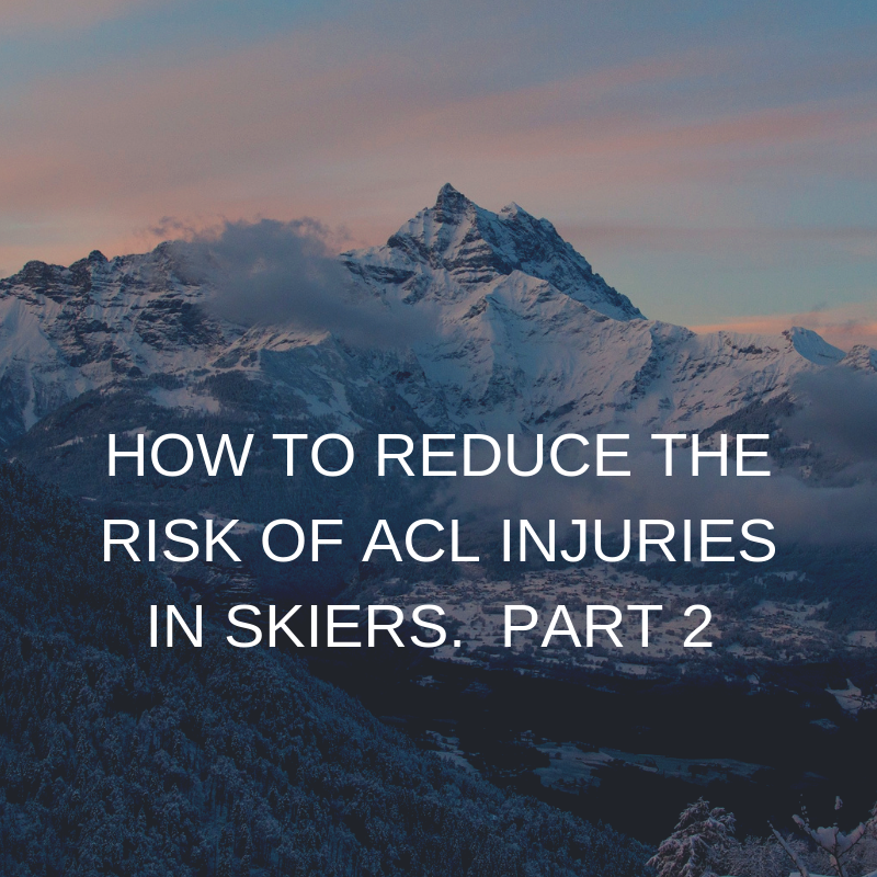 Reduce the risk of ACL injuries
