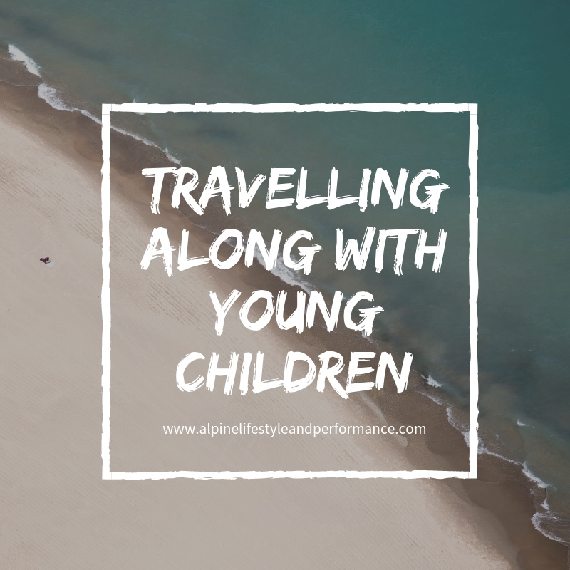 Travelling alone with young children
