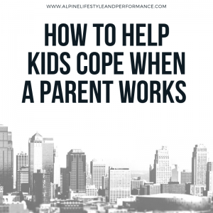 How to help kids cope when a parent works away