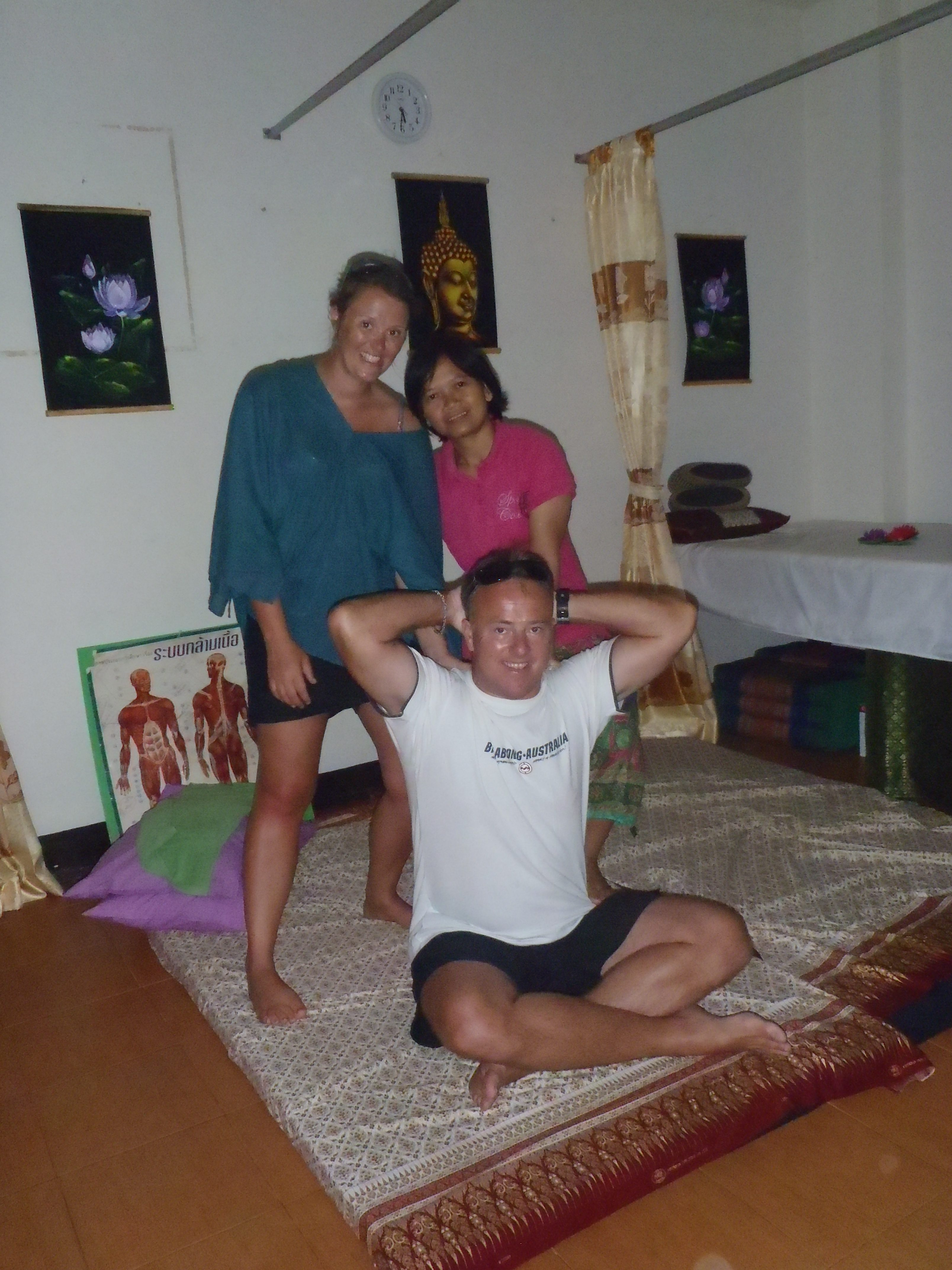 Learning Thai Massage