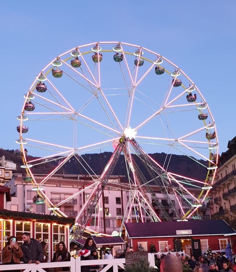 Big Wheel at the Montreux Christmas Market