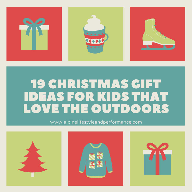 Christmas Ideas for Outdoor Kids