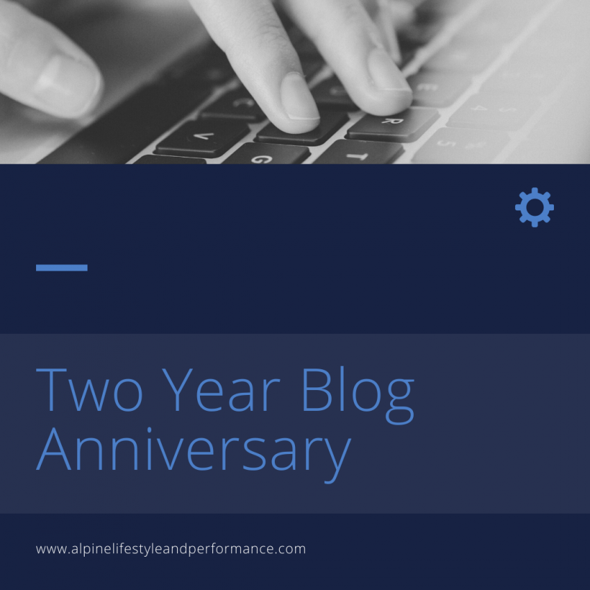 Two Year Blog Anniversary
